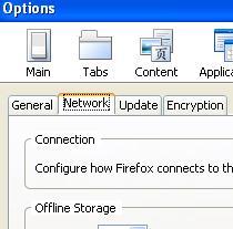 Firefox proxy